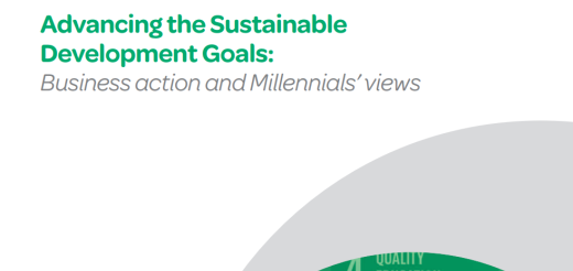 Advancing the Sustainable Development Goals