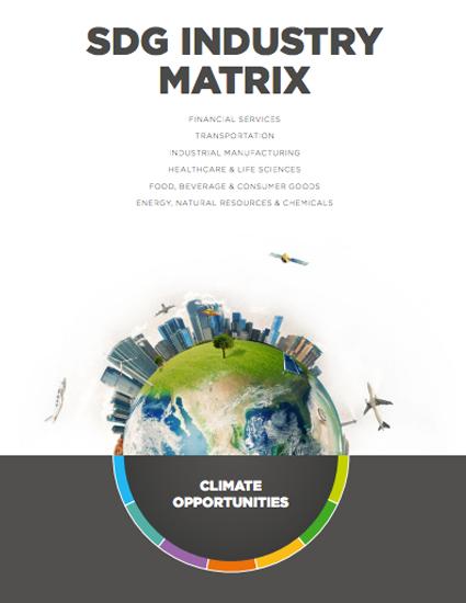 SDG Industry Matrix. Climate Opportunities