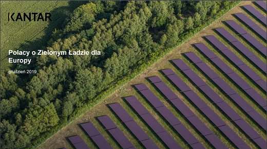 Polacy o Zielonym Ładzie dla Europy