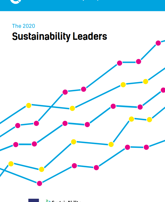 The 2020 Sustainability Leaders