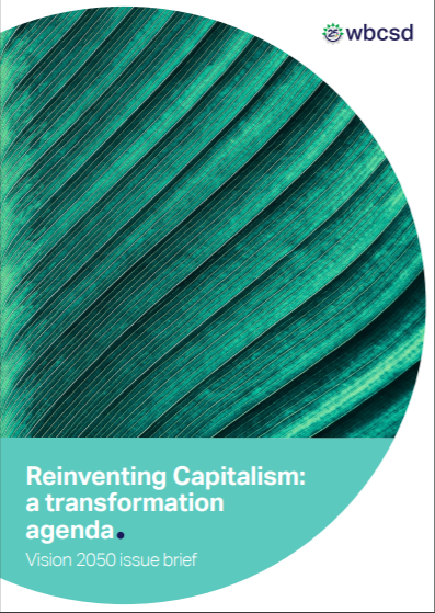 Reinventing Capitalism: a transformation agenda.