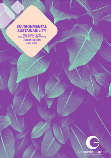 Environmental sustainability: the European cosmetics industry's contribution 2017-2019