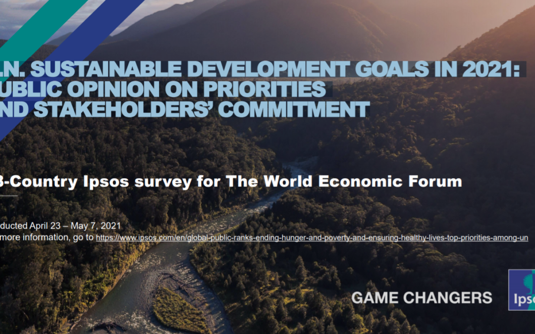 U.N. Sustainable Development Goals in 2021: public opinion on priorities and stakeholders commitment